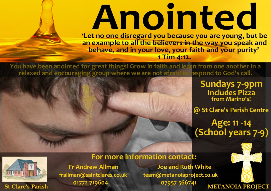 Anointed Poster